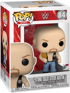 "WWE - ""Stone Cold"" Steve Austin 84 - Funko Pop! - Vinyl Figur"