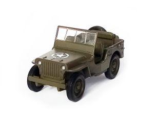Army JEEP 1941 Willys MB US Oliv Militär Modellauto 10,5cm Modell Auto Spielzeugauto 79