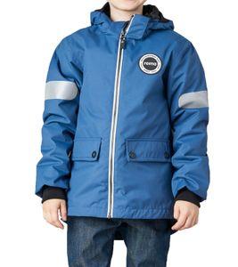 reima Seiland 3-in-1 Winter-Jacke wasserdichte Kinder Übergangs-Jacke Blau, Größe:80