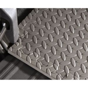 MOTTEZ 6er-Set Multifunktions-Schaumteppich Grau
