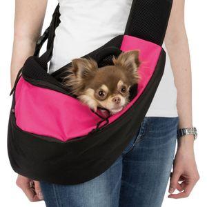 TRIXIE Haustier-Transporttasche Rosa und Schwarz 28956