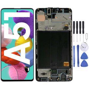 Samsung Display LCD Kompletteinheit für Galaxy A51 A515F GH82-21669A GH82-21680A Schwarz
