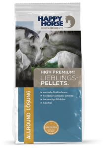 "Happy Horse High Premium ""Lieblings-Pellets"" 14 kg + 2 x 1 kg Lecker Snack"