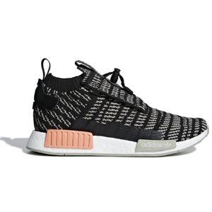 Adidas Originals NMD TS1 PK Primeknit GTX Gore-Tex Sneaker Schuhe schwarz/grau BB9176, Schuhgröße:43 1/3 EU