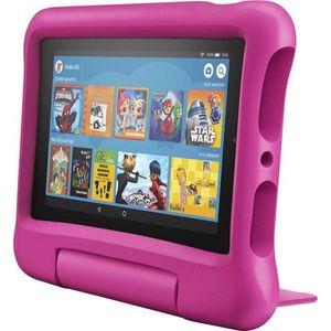 Amazon Fire 7 Kids Edition-Tablet 2019, 17,7 cm (7 Zoll) Display, 16 GB, pinke kindgerechte Hülle mit Ständer