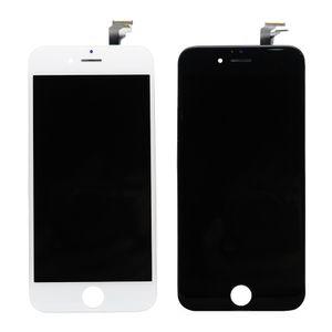 Display iPhone 6 RETINA LCD Glas vormontiert komplett Touch Digitizer Linse AAA+ Weiß / Schwarz, Farbe:weiß