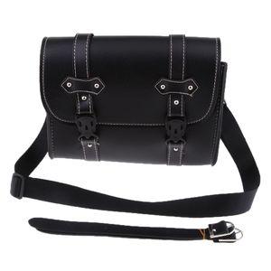1 Stück Motorrad Seitentasche Satteltaschen Universal Kunstleder Motorrad Seitentasche Bag Werkzeug Box für Motorrad