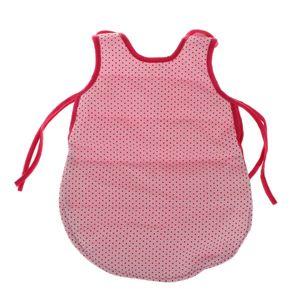 Miniatur Einteiliger Schlafsack Weste Reisetasche für 18 Zoll Puppen Zubehör Weiß wie beschrieben Puppe Schlafsack