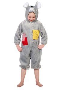 Kostüm Maus grau Kind Größe: 104