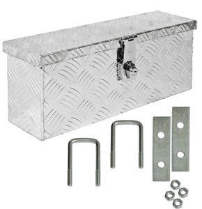 Truckbox Deichselkasten D015 inkl.Montagesatz Aluminium Deichselbox Trucky