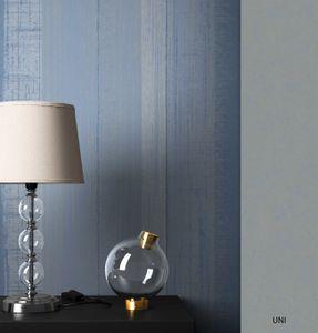 Streifentapete  Blau   Modern Landhaus  Streifen Linien  Simon – Muster