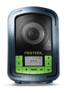 Festool Baustellenradio SYSROCK BR 10 200183 Radio Bluetooth Freisprechfunktion