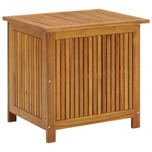 Garten-Aufbewahrungsbox Kissenbox Auflagenbox Balkonbox 60x50x106 cm Massivholz Akazie