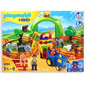 Playmobil 6754 - Mein großer Tierpark | 1 2 3 Zoo Tiere | Selten
