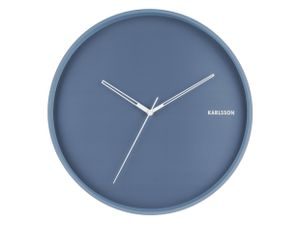 Wall Clock Hue - Wanduhr - blau by KARLSSON