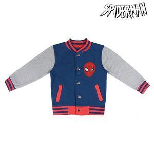 Jacke Für Kinder Spiderman 74130 Blau Grau 8 Jahre