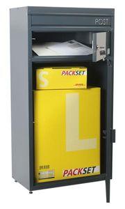 Briefkasten / Paketbriefkasten ScanPro 65 anthrazitgrau