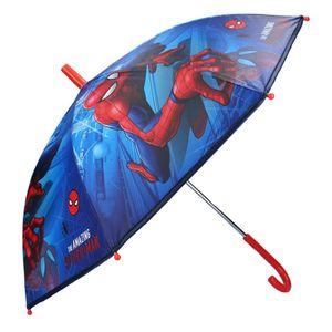Marvel kinderschirm Spiderman Jungen 63 x 70 cm blau/rot