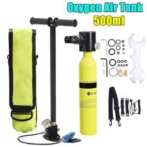 AUGIENB Smaco Tauchausrüstung Sauerstoffflaschen Lufttank Unterwasser Atem Set