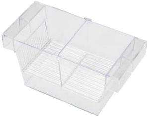 fischlaich- und Pflegeschrank 22 x 10,5 cm transparent