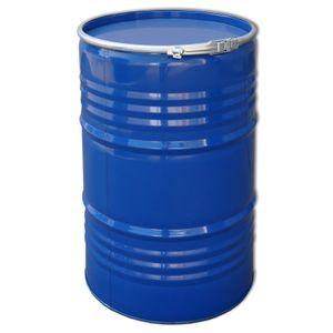 Maier blaues 213 Liter Deckelfass - Stahlfass - Metallbehälter - Tonne