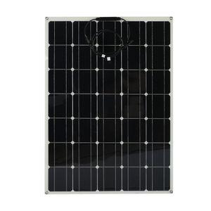 100W Solarpanel Solarladegerät monokristallines Solarpanel flexibel