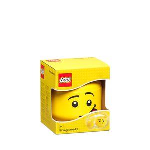 LEGO Aufbewahrungsbox, kleiner Kopf, alberner Junge