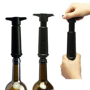 Vacu Vin Weinflaschenverschluss Vakuum Weinpumpe Vacuum Wine Zubehör + 2 Stopfen