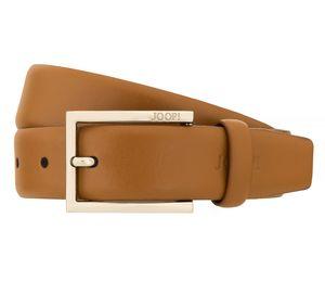 JOOP! Gürtel Herrengürtel Ledergürtel Herrenledergürtel Cognac 2284, Länge:115, Farbe:Gelb
