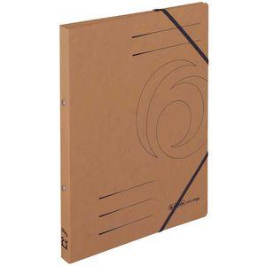 Herlitz Ringhefter A4 Quality Karton, Farbe:braun