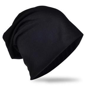 Beanie Mütze Unifarbe Schwarz