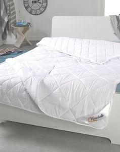Echte 4-Jahreszeiten Bettdecke Steppbett Stepp-Decke Ganz-Jahresdecke