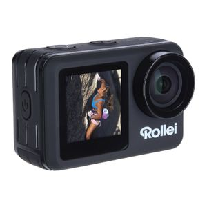 Rollei Actioncam 8S Plus, Farbe:Schwarz