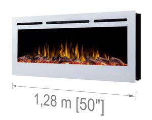 Noble Flame PARIS weiß 1280 [Elektrokamin Wandeinbau/wandhängend]