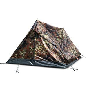 Mil-Tec - ZWEIMANNZELT MINI PACK STANDARD mehrere Farben Festival Einsatz Zelt Outdoor Angelzelt Woodland