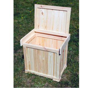 Kissenbox Patrick Sitztmöbel Stauraum Holz Gartenmöbel, Zubehör:Ohne Zubehör