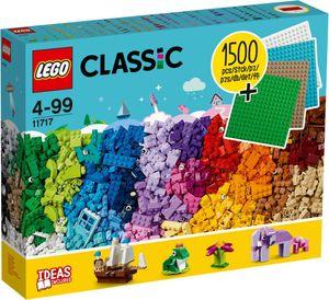 LEGO Classic Extragroße Steinebox mit Bauplatten - 11717, Bausatz, Junge/Mädchen, 4 Jahr(e), 1504 Stück(e), 1,95 kg