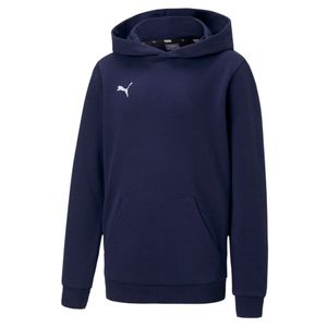 PUMA teamGOAL 23 Casuals Hoody Jr Kinder Sweatshirt Pullover 656711 Blau, Bekleidung:164