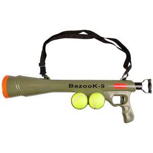 FLAMINGO Hunde Ballschleuder Ball-Pistole BazooK-9 mit 2 Bällen 517029