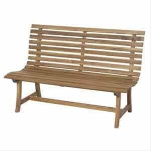 Siena Garden Gartenbank / Parkbank Santana 2-Sitzer Akazienholz