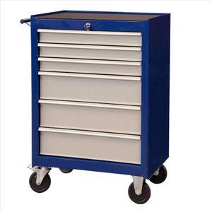 Projahn Werkstattwagen Eco Blue 6 Schubfächer 4901-50 Rollwagen Werkzeugwagen