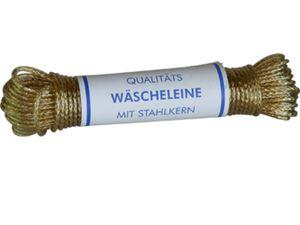 homiez Wäscheleine mit Vollstahleinlage, Stärke 3,5 mm Länge: 20 m ummantelt