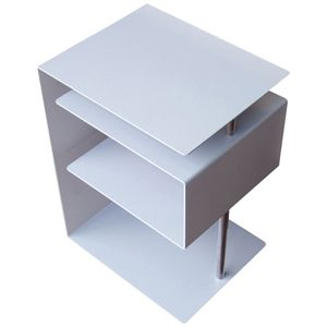 Radius X-Centric Table Silber Beistelltisch - 530 a