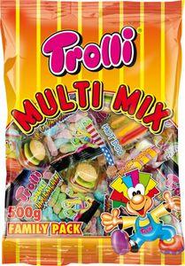 Trolli Mini Fruchtgummi Multi Mix Schmatzinsel Family 500g 6er Pack