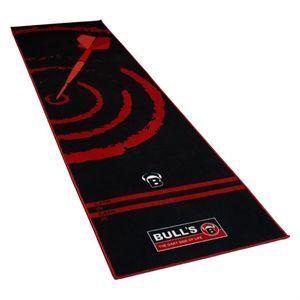 Bull's dartmatte'140' schwarz/rot 280 cm