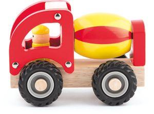 Holzauto, Motorikspielzeug, Betonmischer, Holzspielzeug von Woodyland