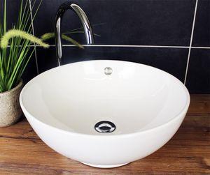 Aufsatzwaschbecken Rund 43cm 2008 Design Waschbecken Waschschale