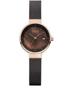 Bering Solar Collection 14426-265 Damenarmbanduhr flach & leicht