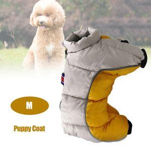Haustier Hund Kleidung Winter warme Jacke dicker Welpen Mantel kleine Hunde Haustiere Kleidung M