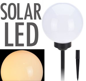 Solarlampe Kugel in warmweiß  - Ø 30cm